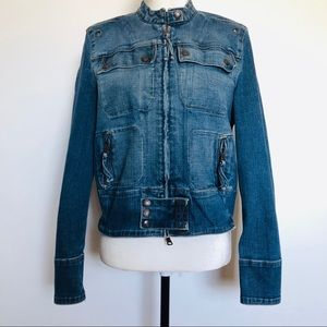 Polo By Ralph Lauren Anouk Jean Jacket Size Large